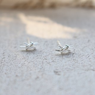 Sterling Silver Earring 0794 - Small knot