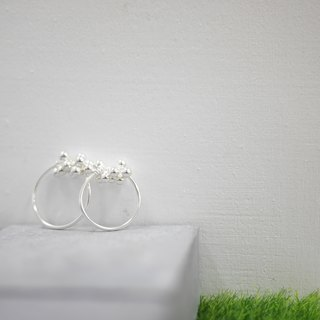 925 Sterling Sliver Bubble Ring