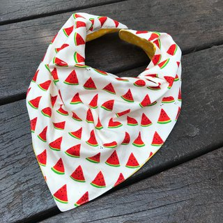 Fashion scarf*Watermelon watermelon*Stereo triangle bib