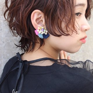 One-ear bijou earring basic1