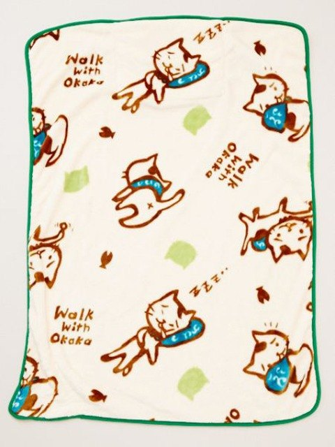 【Pre-order】 ✱OKAKA cat feel blanket ✱S size
