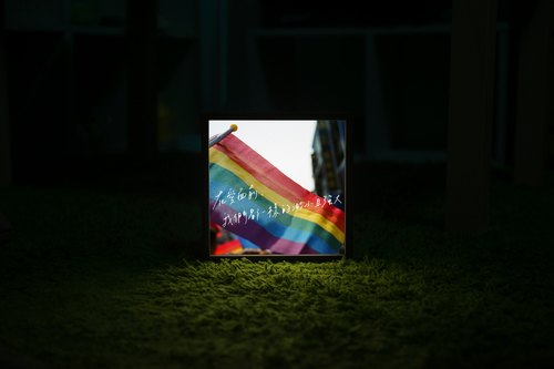 Lighto photocopy Mini Lightboxes are all the same small and strong in front of love