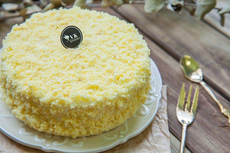【母親節蛋糕】原味香草三重奏乳酪蛋糕