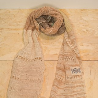 EARTH.er │ Natural Dyed Scarf (mutlicolor-light)│