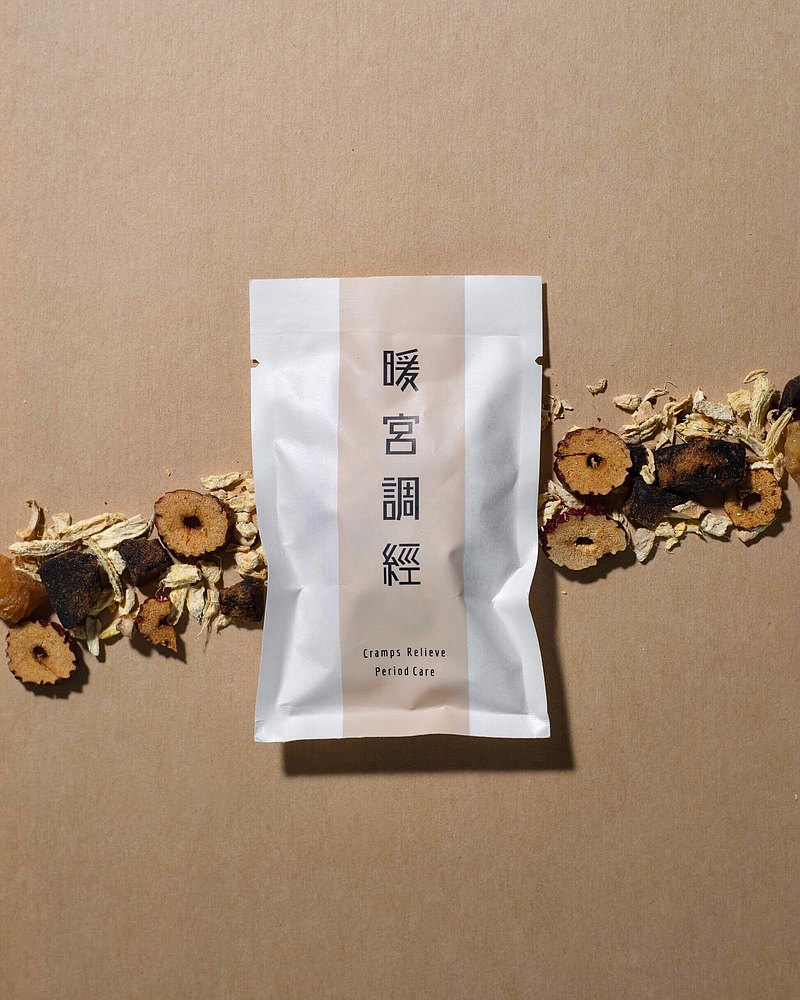 【暖宮調經】黑糖桂圓薑茶 | 無咖啡因花茶