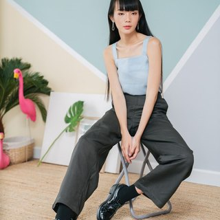 Wide leg pants in Dark Gray