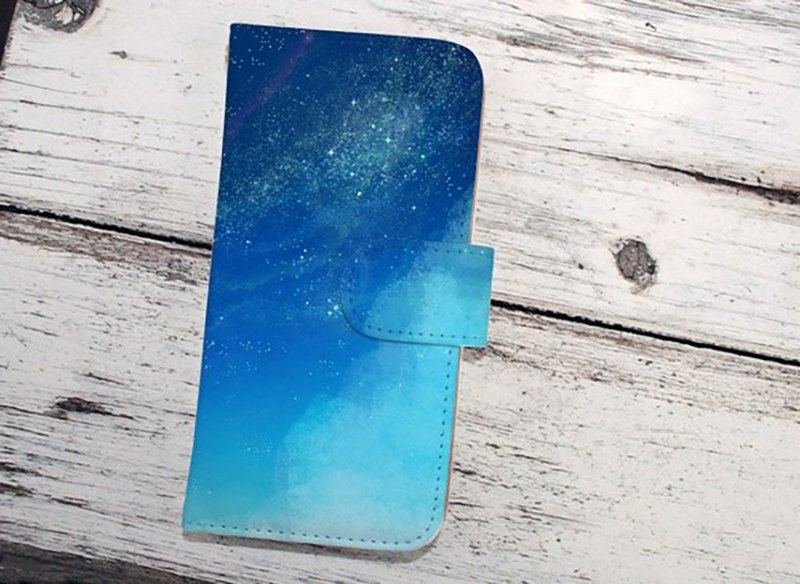 【All models supported】 Free shipping 【notebook type】 Starry Sky Starry Sky iPhone 8 / iPhone 8 Plus / iPhoneX