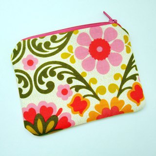 Zipper pouch / coin purse (padded) (ZS-253)