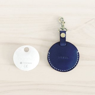 LION's Handmade Leather – gogoro Key Ring Key Leather Can (Ocean Blue)