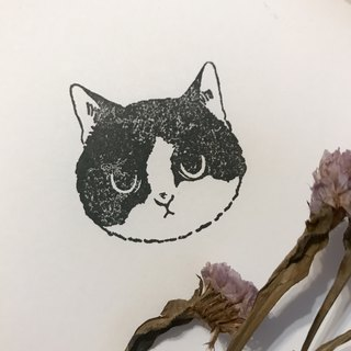 Customized / pet illustration rubber stamp / without background
