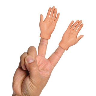 /Archie McPhee/ Finger Hand 2 into the group