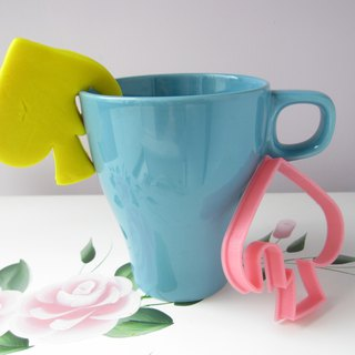 Poker Suite Hang off Cup Cookie Cutter 4 pcs Set. Party Supplies.