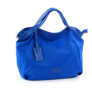 La Poche Secrete : Lightweight bag for jumping girls - lightweight nylon _ portable shoulder _M blue