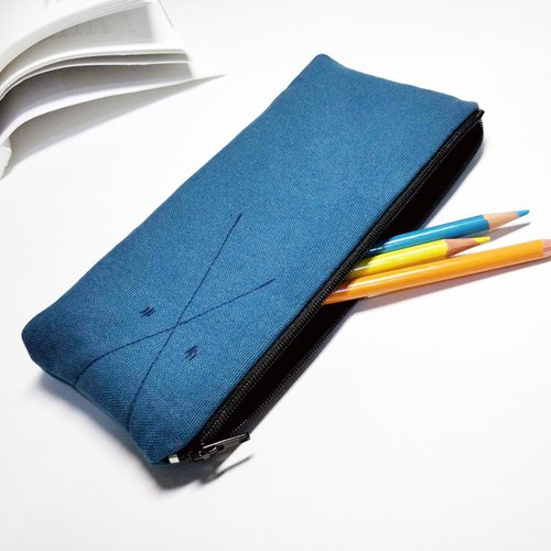 Black or Blue pencil bag