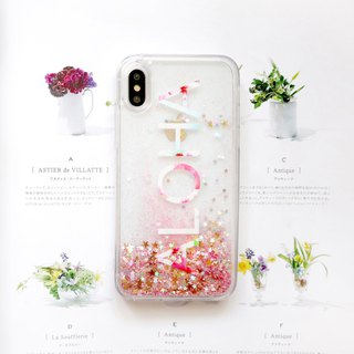 ALOHA Hawaiian shiny phone case