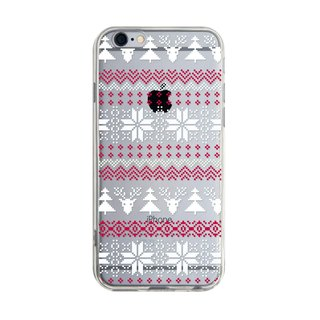 Christmas Tree with Christmas Fawn iPhone X 8 7 6s Plus 5s Samsung S8 S9 Phone Case