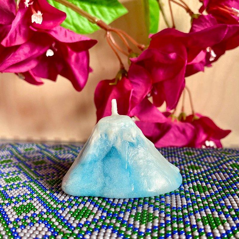 山形蠟燭【小山丘系列】富士山