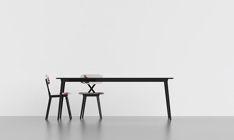 【qeeboo tw】 X TABLE EXTENSIBLE 可延伸桌  餐桌 書桌 辦公桌