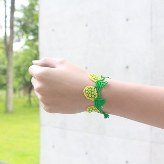 bubble fruit bracelet - pineapple