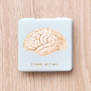I think so I am brain brain double-sided mirror