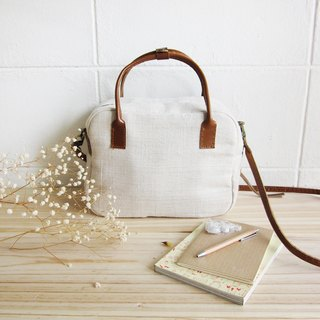 Cross Body Mini Sport Hemp Bags Natural Color Hemp