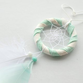 Dream Catcher Kit Mini Edition 5cm (with instructional film) - Peppermint (two-tone)