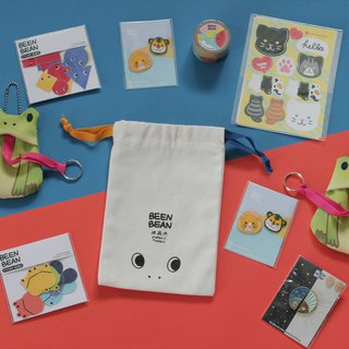 Goody Bag - Green frog with buddies pack
