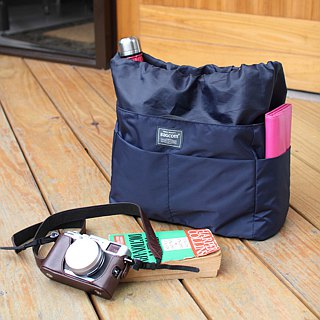 Small size-Backpack OK-INSIDE Bag Organizer-Dark blue_100233-30
