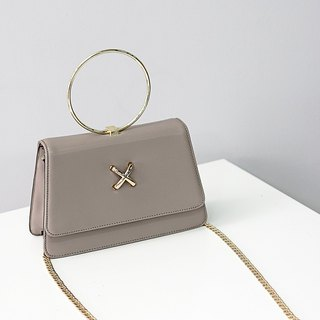[Hong Kong, Macao and Taiwan] MBS Wu Baishan wild made leather hand bag chain bag Messenger bag
