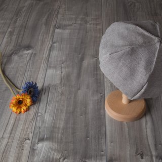 flowing_dimsum beret hat.grey