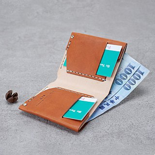 Be Two ∣ Simple Short Clip / Bilateral Card Layer / Men's Wallet / Classic Short Clip (Multi Color)