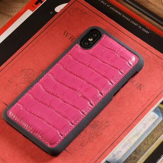 STORYLEATHER customized iPhone X Style iPX-1P back protective shell