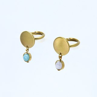 Illusions Optical Mirror Ring / Brass