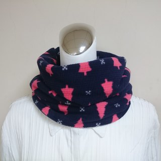 Warm bib neck cover double-sided two-color short scarf for men and women are applicable*SK*