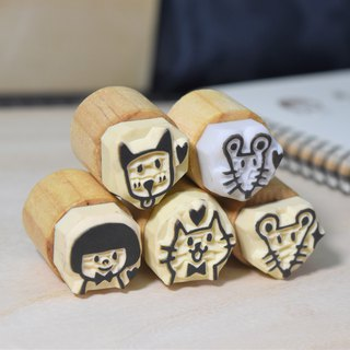 Customized merchandise - 3*3CM Lulu small seal