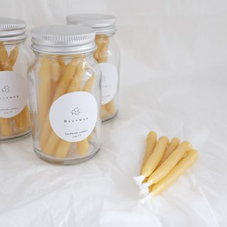 B eeswax | canned beeswax candle beeswax candle 10 into