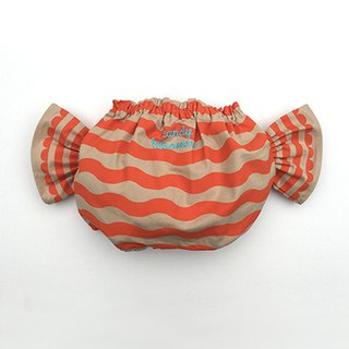 Japan ALOHALOHA wrap pants CANDY BLOOMER eclair pop orange