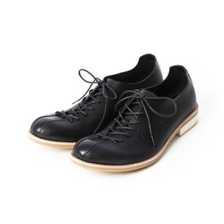 ARGIS Japan's extremely soft strap casual shoes / 蟑螂 shoes #51111 black - Japanese handmade