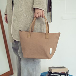 Canvas minimalist tote bag