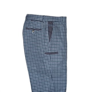 Warm Man 系列 Chicago Classic Grey Check 8 Pockets 經典灰格紋八口袋暖男褲