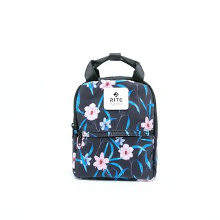 [RITE] Le Tour Series - Dual-use Mini Backpack - Flower Deep