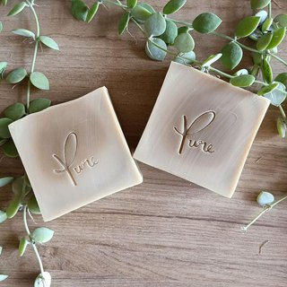 Pure Pure Handmade Soap - Heart Vanilla Soap (No Fragrance Series)