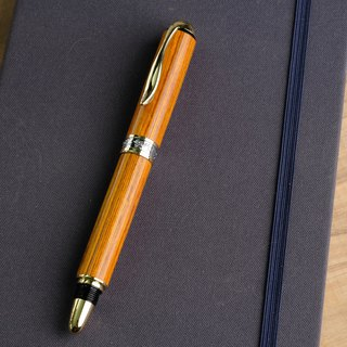 Color wood ball pen