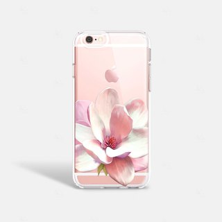 Flower iPhone 7 Case Clear iPhone 8 Case iPhone 8 Plus Clear Case iPhone 6 Plus