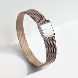 Stainless Steel Mesh Bracelet | Rose Gold