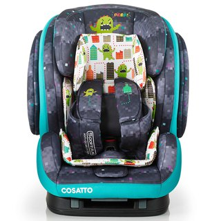 英國 Cosatto Hug Group 123 Isofix 汽車安全座椅 – Monster Arcade (5 point plus)