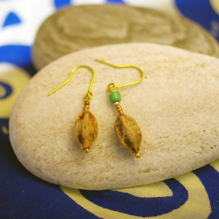 Love lotus seed earrings