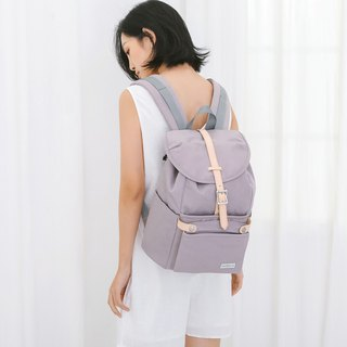 150 colors matching girls backpack and small bag travel bag dual purpose Havana - camphor purple