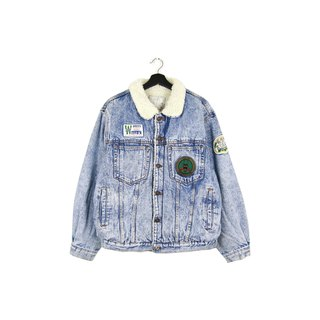 Back to Green :: Shop Cotton Denim Jacket Glacier Blue vintage (DJ-08)