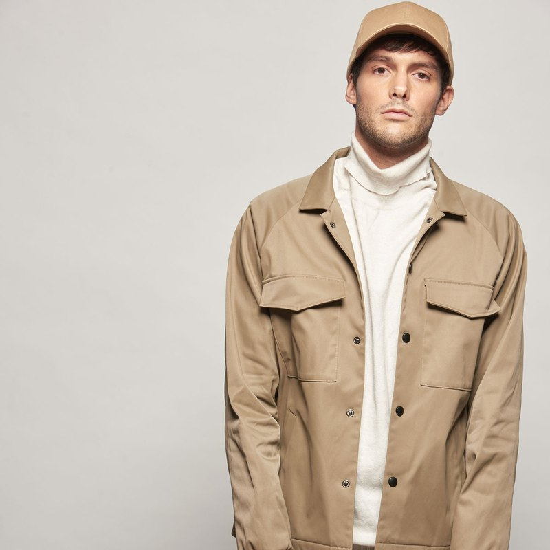 Stone@s Coach Windproof Jacket / Camel Jacket Windproof Waterproof
